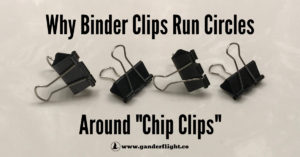 """Binder clips blow """"chip clips"""" out of the water when it comes to sealing bags. Find out why this SAHD chooses binder clips to keep his family's food fresh!"""