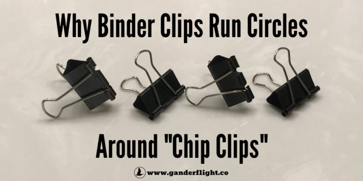 """Why Binder Clips Run Circles Around """"Chip Clips"""""""