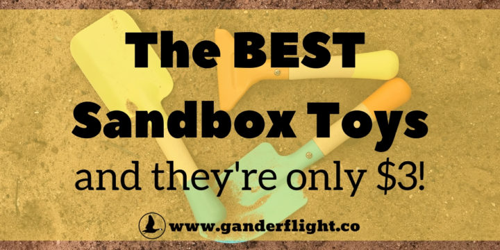 The Best Sandbox Toys – and they're only $3!