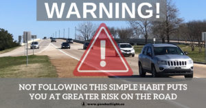 Make this simple change to your daily habit while driving and you can increase your visibility on the road - making yourself and your family safer!