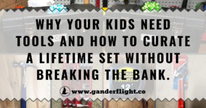 This dad is creating the ultimate tool kit for his kids – click here to find out why and how you can too!