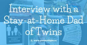 interview with stay at home dad sahd gander flight