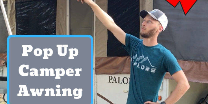 Pop Up Camper Awning: Alternate Setup – Never Worry About Wind Again!