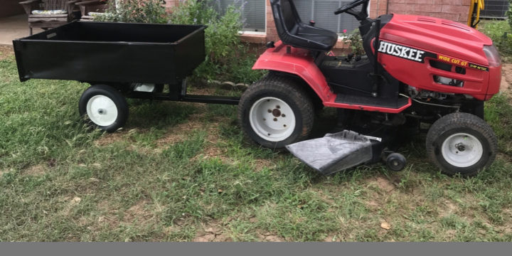 Homestead Lawn Tractor for $50? The Better Together Life Riding Mower Refurbishing Project