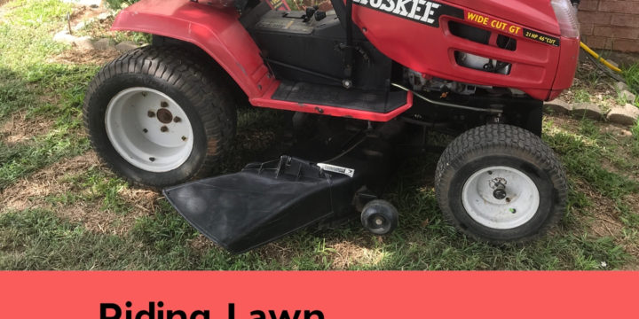 How to Turn On the Headlights of a Riding Lawnmower | Huskee MTD Briggs & Stratton Engine