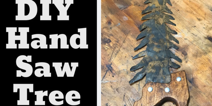 DIY Rustic Decor – Turning a Generic Hand Saw into Gorgeous Tree Art in Your Garage