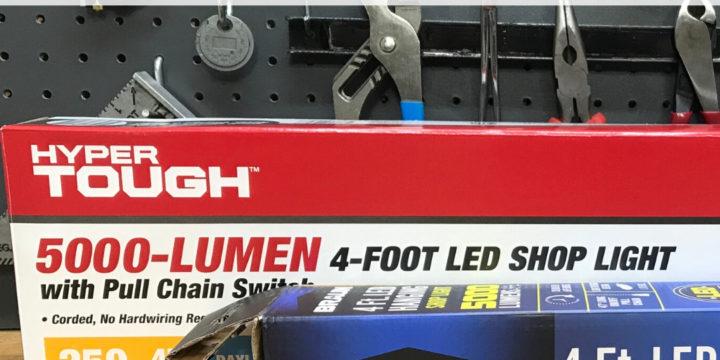 LED Shop Light | Harbor Freight (Braun) -vs- Walmart (Hyper Tough)