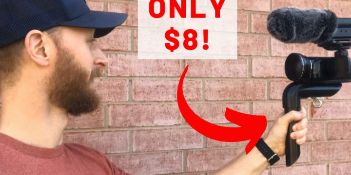 How to Make the BEST DIY Camera Handle for Vlogging