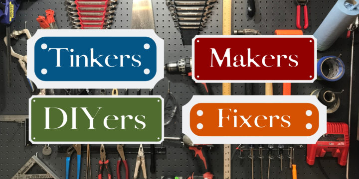 Is this the best DIY group online? Join DIYers, Tinkers, Fixers, & Makers!