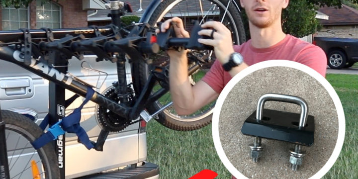 How to STOP Your Bike Rack from Swaying | Installing a Hitch Tightener