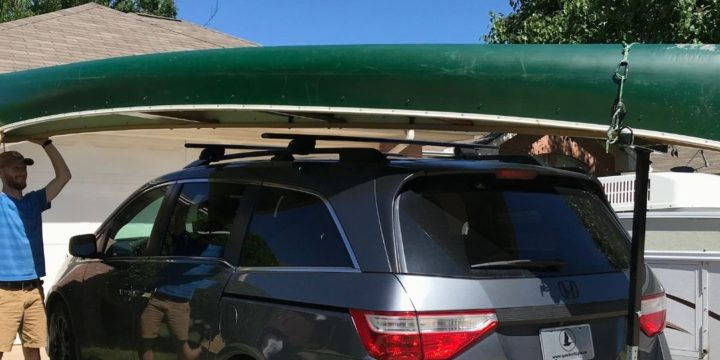 The BEST Way To Load A Canoe On Your Car By YOURSELF