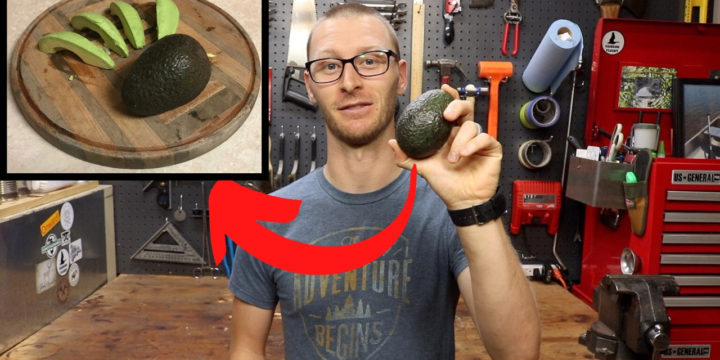 Perfect Avocado Slices Every Time! | How To Peel An Avocado