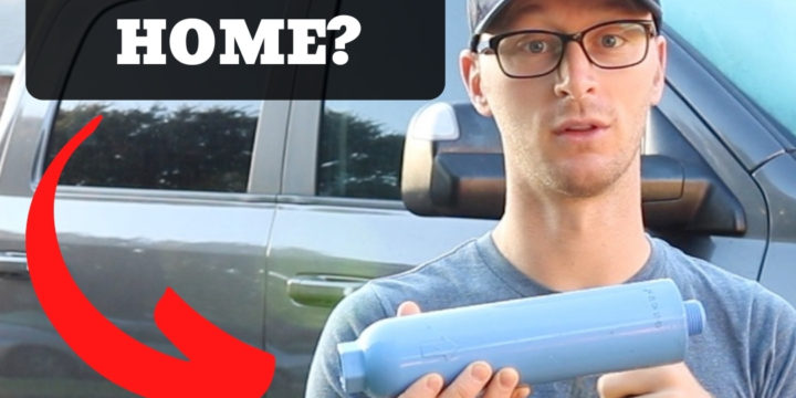 Can You Get A Spot Free Rinse AT HOME Using A Cheap RV Water Filter?