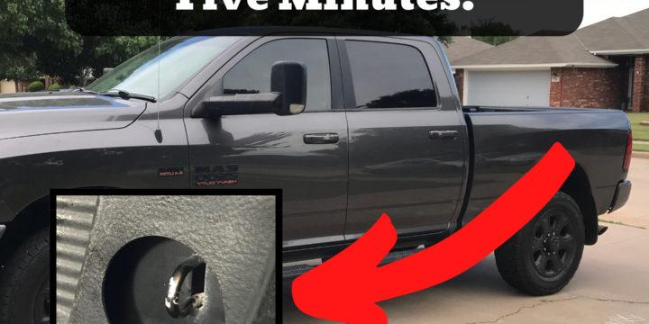 Adding 80+ Tie Downs in UNDER 5 Minutes!   DIY Truck Bed Tie Downs