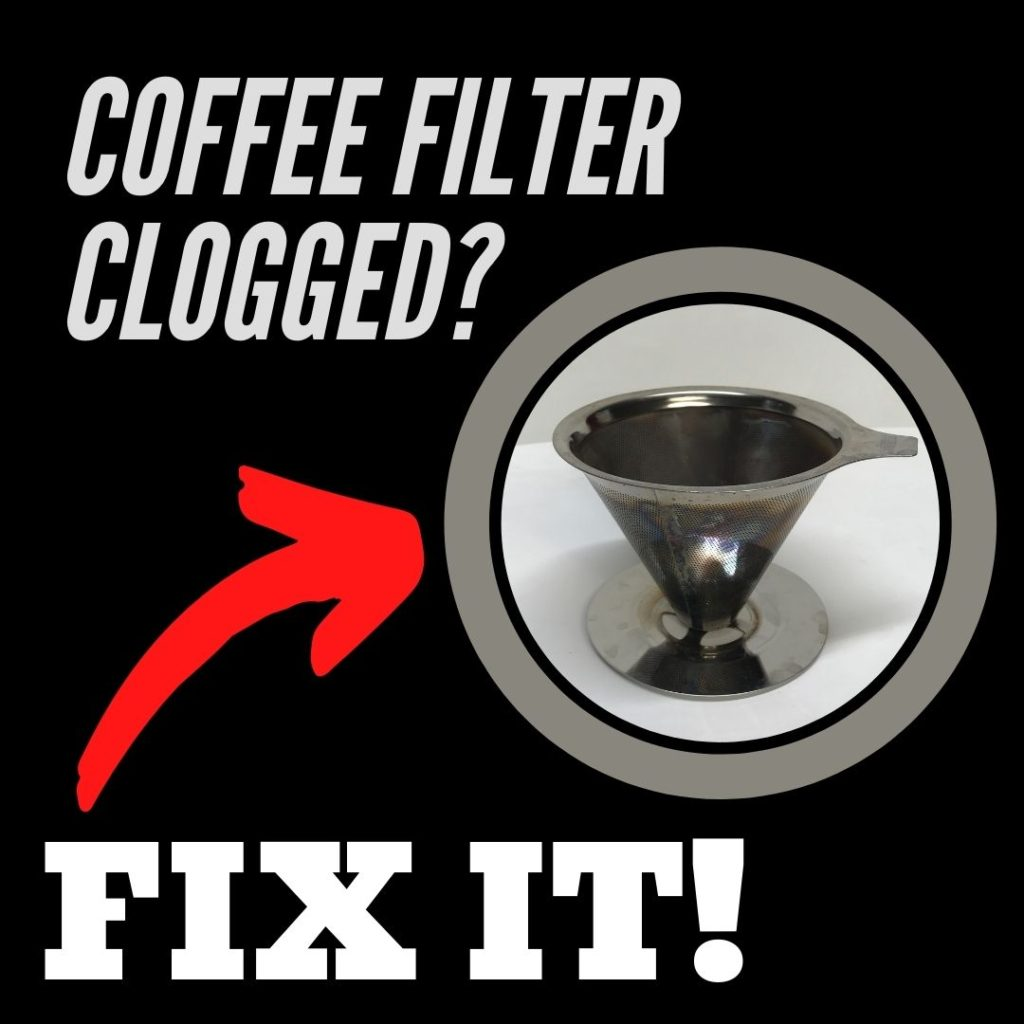 Cleaning A Pour Over Coffee Filter