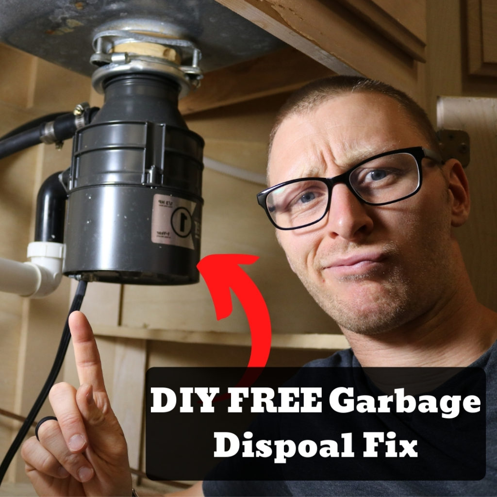 DIY Garbage Disposal Fix – FREE Repairs YOU Can Do NOW!