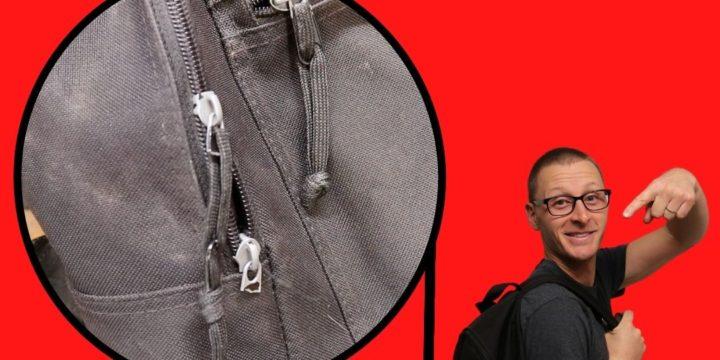 How Fix A Broken Zipper Pull & Upgrade to DIY Silent Zippers!