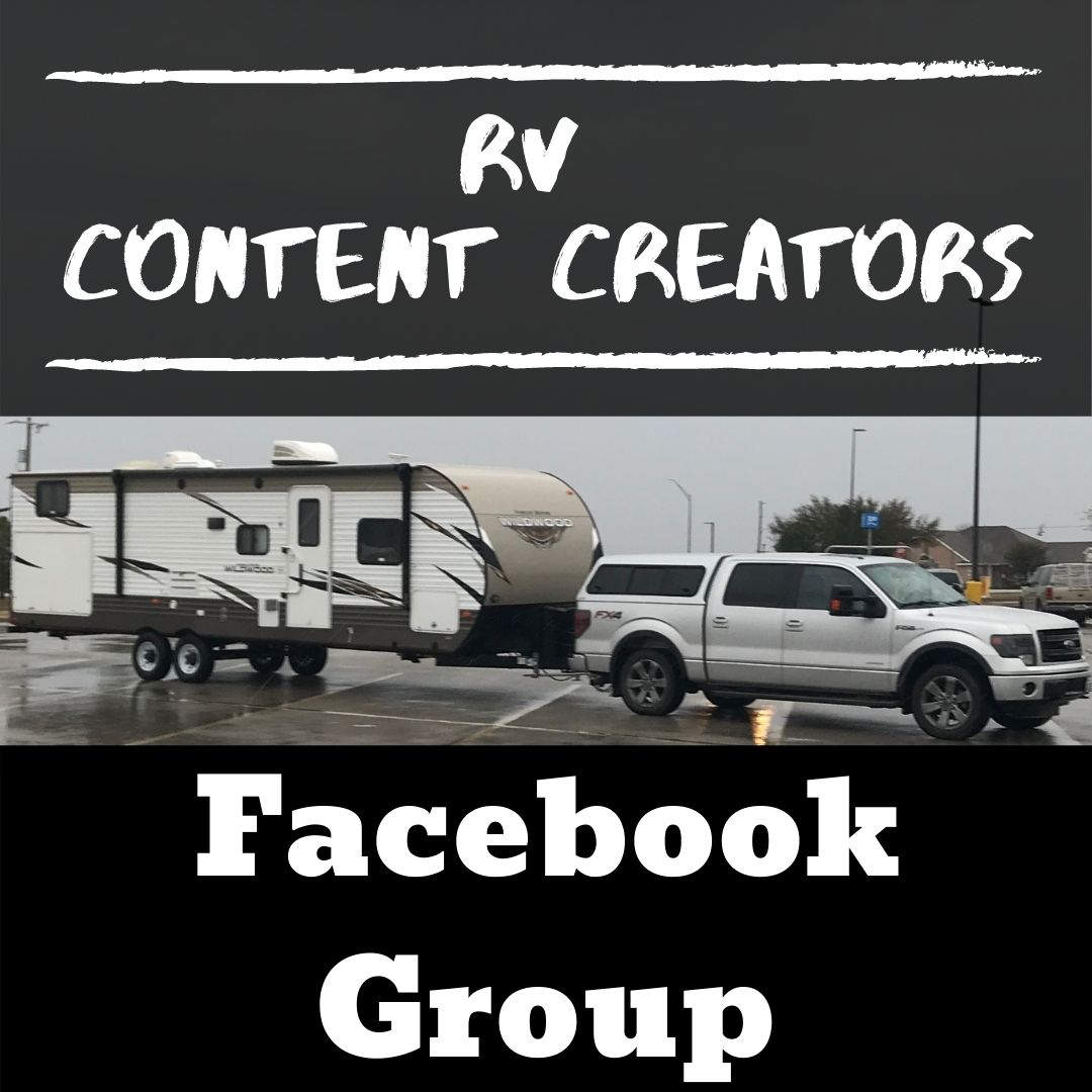 RV Content Creators Facebook Group